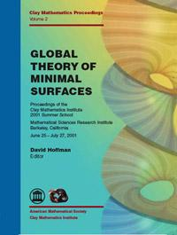 Global theory of minimal surfaces. Proc. Clay Inst. 2001 Summer School